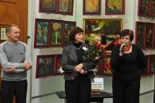 То, что радует глаз и где отдыхает душа. Выставка Вячеслава Мищенко в Национальной Парламентской библиотеке Украины. 46