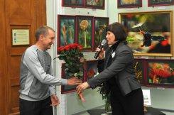 То, что радует глаз и где отдыхает душа. Выставка Вячеслава Мищенко в Национальной Парламентской библиотеке Украины. 55