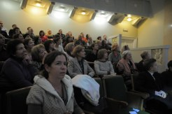 Вечер памяти о. Лонгина в Доме учителя 129