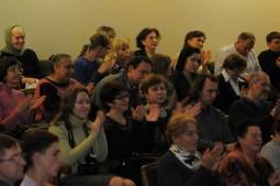 Вечер памяти о. Лонгина в Доме учителя 85