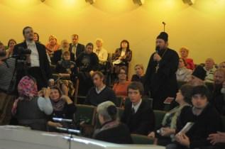 Вечер памяти о. Лонгина в Доме учителя 93