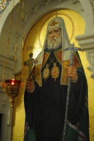 Несколько фотографий с Рождественской службы из Свято-Троицкого Китаевского мужского монастыря. 23