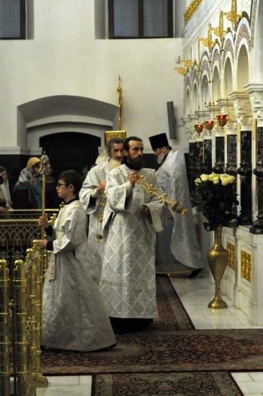 Несколько фотографий с Рождественской службы из Свято-Троицкого Китаевского мужского монастыря. 28