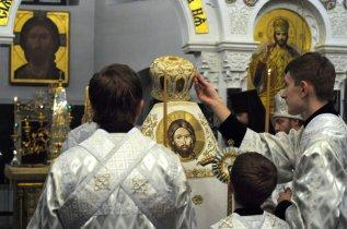 Несколько фотографий с Рождественской службы из Свято-Троицкого Китаевского мужского монастыря. 31