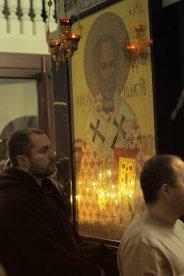 Несколько фотографий с Рождественской службы из Свято-Троицкого Китаевского мужского монастыря. 42