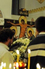 Несколько фотографий с Рождественской службы из Свято-Троицкого Китаевского мужского монастыря. 45