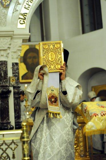 Несколько фотографий с Рождественской службы из Свято-Троицкого Китаевского мужского монастыря. 46
