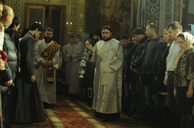 Фотографии с Рождественской службы в СвятоТроицком Ионинском монастыре 74