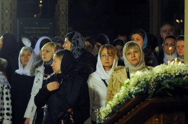 Фотографии с Рождественской службы в СвятоТроицком Ионинском монастыре 83