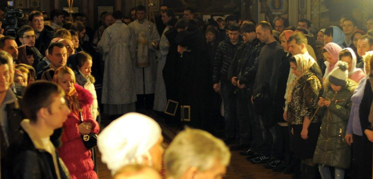 Фотографии с Рождественской службы в СвятоТроицком Ионинском монастыре 95