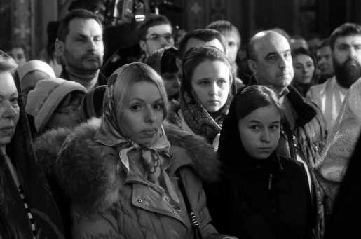 Фотографии с Рождественской службы в СвятоТроицком Ионинском монастыре 116