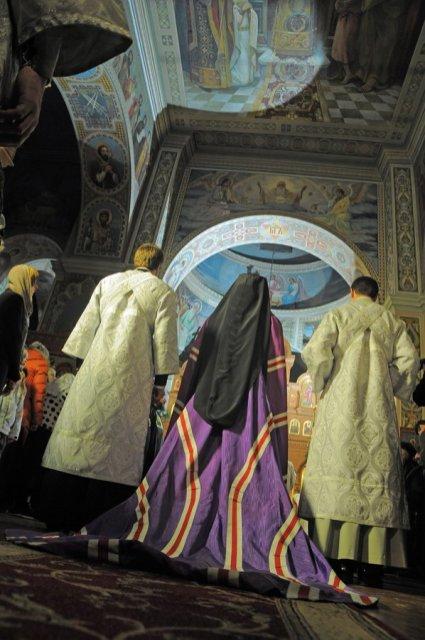 Фотографии с Рождественской службы в СвятоТроицком Ионинском монастыре 125