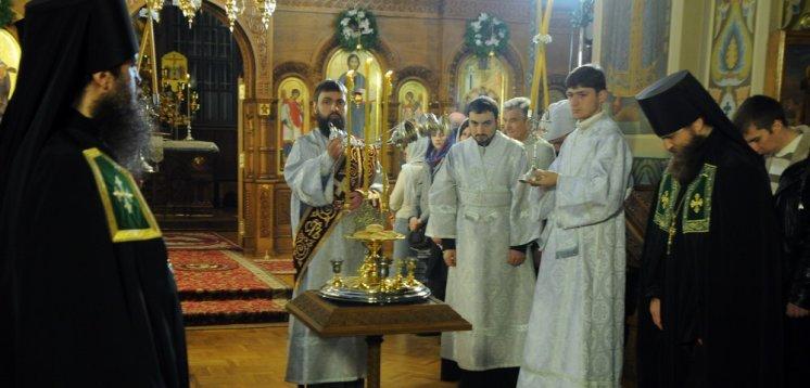 Фотографии с Рождественской службы в СвятоТроицком Ионинском монастыре 129