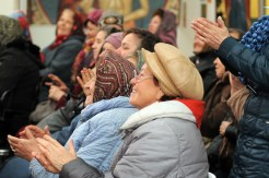Духовная музыка в исполнении фольклорного ансамбля «Многая лета» в галерее «Соборная» Духовно-просветительского центра УПЦ 46