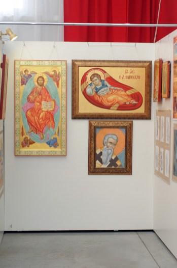 """Выставка «Торжество Православия» - более 100 икон в галерее """"Соборная"""". 56"""