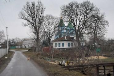Дорога к храму св.Георгия, с. Заворичи