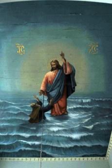 Фрагмент потолочной росписи церкви св. Георгия