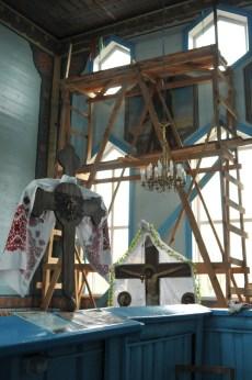 В храме св. Георгия идет ремонт