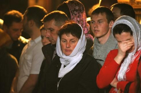 Фото репортаж со Свято-Троицкого Ионинского монастыря г.Киев со Светлого Праздника Воскресения Христова. 27