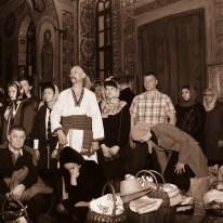 Фото репортаж со Свято-Троицкого Ионинского монастыря г.Киев со Светлого Праздника Воскресения Христова. 248