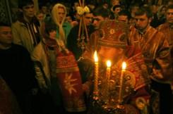 Фото репортаж со Свято-Троицкого Ионинского монастыря г.Киев со Светлого Праздника Воскресения Христова. 270