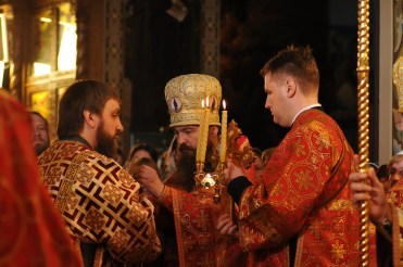 Фото репортаж со Свято-Троицкого Ионинского монастыря г.Киев со Светлого Праздника Воскресения Христова. 133