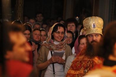 Фото репортаж со Свято-Троицкого Ионинского монастыря г.Киев со Светлого Праздника Воскресения Христова. 120