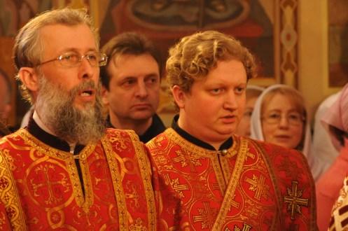 Фото репортаж со Свято-Троицкого Ионинского монастыря г.Киев со Светлого Праздника Воскресения Христова. 189
