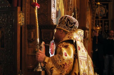 Фото репортаж со Свято-Троицкого Ионинского монастыря г.Киев со Светлого Праздника Воскресения Христова. 82