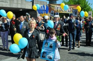 Праздник День Победы. Киев. 9 мая 2014 Фото репортаж. 93