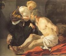 Caritas Romana («милосердие по-римски») Сюжет и картины великих 6
