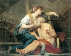 Caritas Romana («милосердие по-римски») Сюжет и картины великих 9
