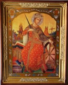 Завтра праздник св. Екатерины. Житие и страдание святой великомученицы Екатерины Александрийской. Иконы большого размера 8