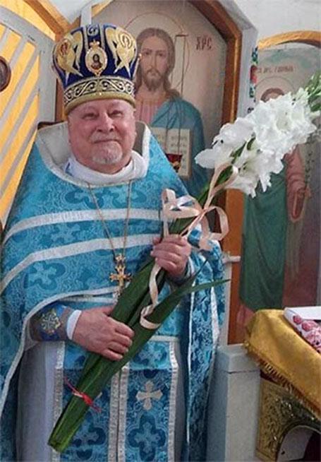 ректор возрожденной Киевской духовной семинарии протоиерей Александр Кубелиус