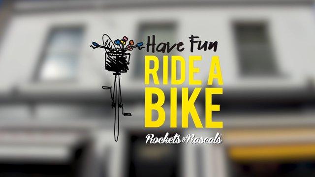 Have Fun, Ride a Bike Title