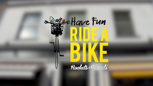 Have Fun, Ride a Bike Title
