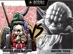 Mestre dos Magos (Caverna do Dragão) vs. Mestre Yoda (Star Wars)