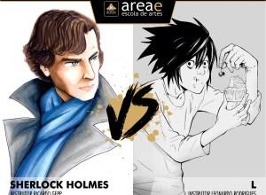 Sherlock Holmes vs. L (Death Note)