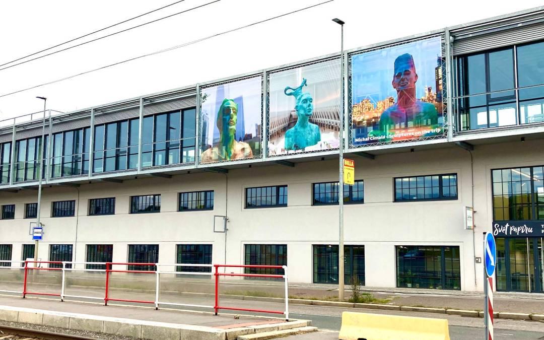 Bývalá továrna barev se mění k nepoznání v moderní AREÁL PODKOVÁŘSKÁ