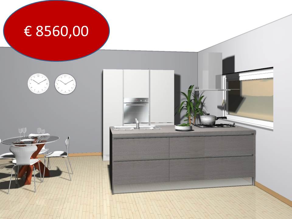 Veneta cucine Oyster costo euro 850000