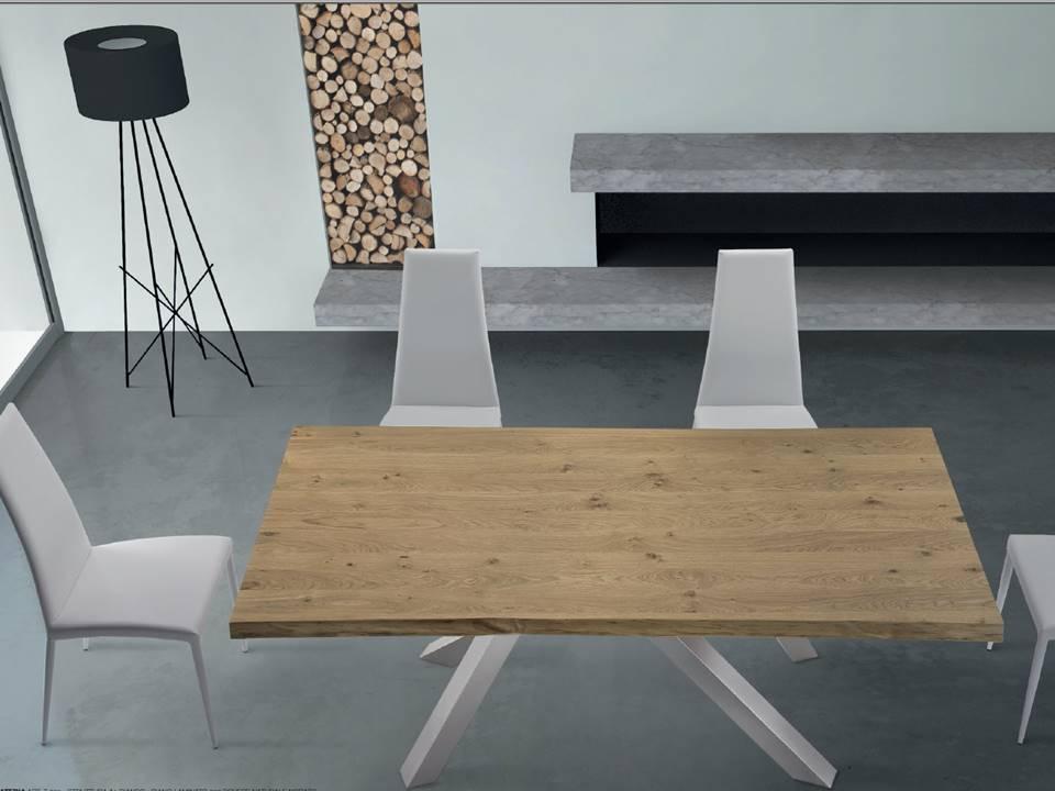 Tavoli con gambe colorate tavoli consolle allungabili