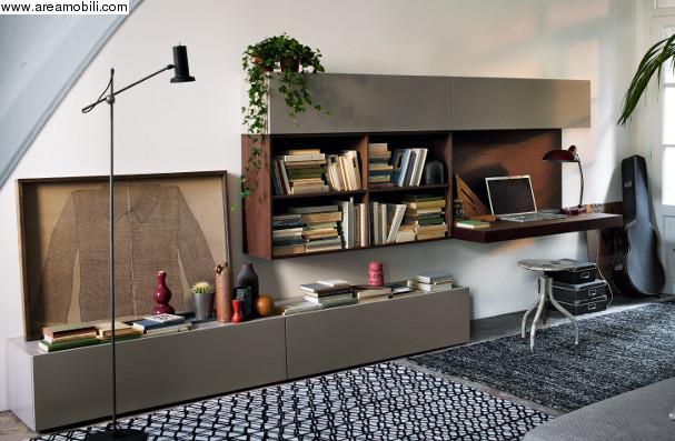 libreria con scrittoio Archives  Mobili e arredi Lissone