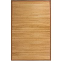 Best Choice Products® Bamboo Area Rug Carpet Indoor Outdoor Wood 5' X 8'