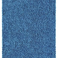 Living Room Rug Sizes Furniture Designs For Soft Shag Area 5×7 Plain Solid Color Navy Blue ...