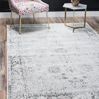 Eorc Slmu Round Hand Tufted Wool Swirl Rug 6 Feet Area