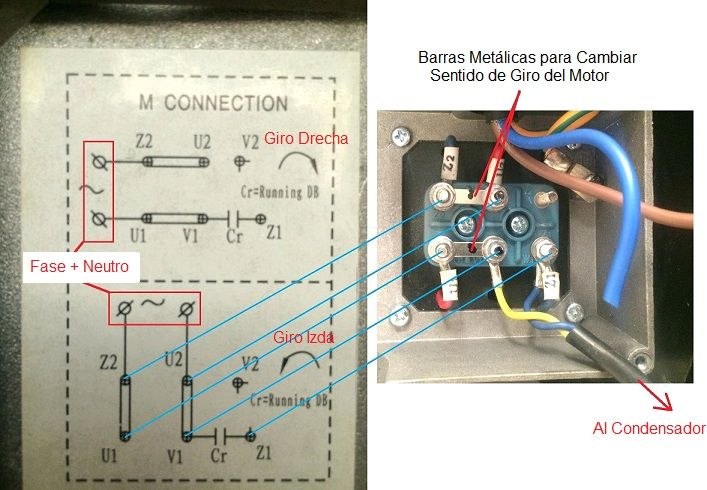 single phase capacitor start induction motor connection wiring diagram standard relay motores monofasicos aprende todo facil