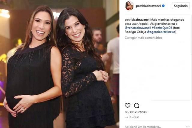 Patricia Abravanel e Renata Abravanel/Instagram