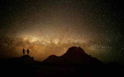 Namibia Night Safaris: Tripping the Light Fantastic