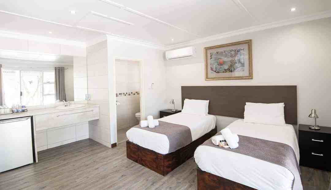 Standard Room | Twin | Bed & Breakfast Accommodation In Windhoek |  Arebbusch Travel Lodge
