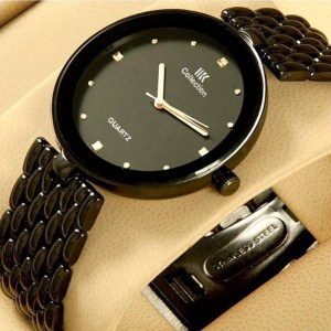 Black Stainless Steel Watch 499
